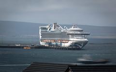 Caribbean Princess (MBDGE) Tags: orkney canon caribbeanprincess longexposure long shapinsay ferry sea nd filter ship boat wave cruise scotland alba