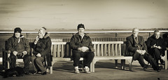 Old Timers (Podge_) Tags: southport southportpier meresyside merseycoast antiqueeffect