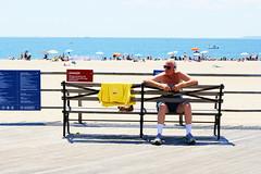 Sunbathing (ByteForByte) Tags: beach sunbathing brooklyn summer newyork newyorkcity vsco vscocam canon