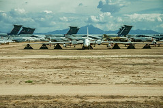 Tuscon Air Force Boneyard (20 of 25) (macfanmd) Tags: yellow arizona aircraft boneyard airforce davismonthanafb afb vintageaircraft desert history historic military