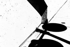 Untitled 345 (Takako Kitamura) Tags: blackwhite shadow abstract highcontrast geometry