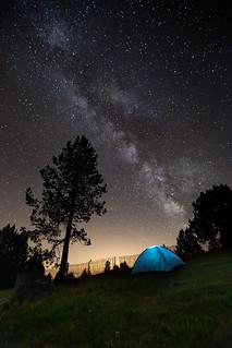 Milky Way Rasos de Peguera
