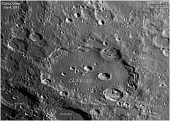 A View of Clavius Crater (Tom Wildoner) Tags: tomwildoner leisurelyscientistcom leisurelyscientist clavius crater moon lunar july 2017 asi290mc zwo telescope meade lx90 celestron cgemdx weatherly pennsylvania astronomy astrophotography astronomer space solarsystem science