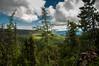 High Tatra/Visoké Tatry (Zake27) Tags: naturewatcher nature sky blue nikon d2x outdoor forest green landscape woods pines summer slovakia