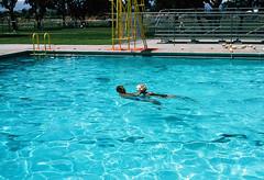 Lifeguard training (menloparkplanning) Tags: recreation parks schools menlopark scannedphoto historical historicalphoto pool lifeguard lifeguardtraining sanmateocounty california
