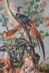 Wrest Park Chinese wallpaper (jpotto) Tags: uk bedfordshire englishheritage wallpaper furnishings chinese decoration birds