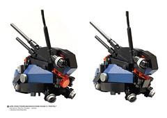 "AMS FS99 Fuhrungsmachine MarkII ""Mistel""_07 (Benjamin Cheh) Tags: afol lego design mecha"