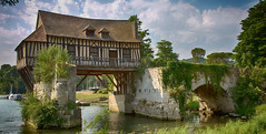 The old mill of Vernon (pe_ha45) Tags: mill mühle moulin vernon normandie normandy france