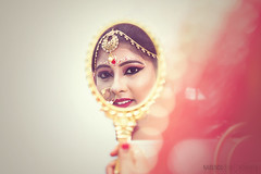 T H E  M I R R O R (NabenduBhatt Photography) Tags: bride wedding bengali tripura