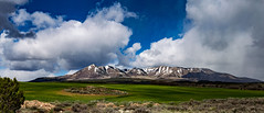 Abajo Mountains Utah (svubetcha) Tags: landscape flowers arizona sunset bridge hourse mission gas utah