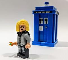 LEGO® Doctor Who: Thirteen... (Umm, Who?) Tags: lego bricks doctor who 13 jodie whittaker dalek peter capaldi 12 tardis blue nardole bill pearl mackie matt lucas