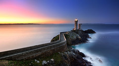 Le Minou (FredConcha) Tags: petitminou bretagne france lighthouse farol fredconcha sunrise stars night sea landscape nature passage finistere britany