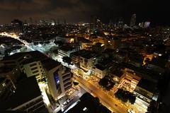 Tel Aviv from above (ohirshfeld) Tags: cityscape city night dark longexposure slowshutter afterdark midnight streets street telaviv israel nightscape