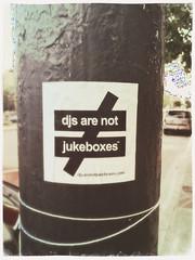 True (plasticfootball) Tags: chicago illinois djsarenotjukeboxes hipstamatic marshalllens dreamyfilm sticker