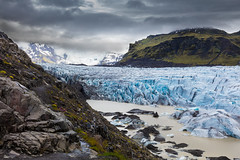 Svínafellsjökull (Role Bigler) Tags: berg canoneos5dsr cloud clouds ef401635lisusm fels glacier iceland island natur nature rock wolken gletscher mountain svínafellsjökull