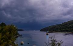 Adriatic Sea (49) - storm (Vlado Ferenčić) Tags: adriatic sea seascape boat vladoferencic islands islandkorčula šaknjarat vladimirferencic storm hrvatska croatia velaluka jadranskomore jadran nikond600 nikkor5014 cloudy clouds croatianislands