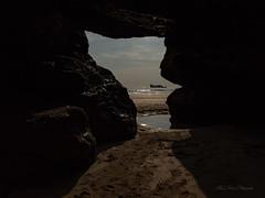 The cave 2 (khan.Nirrep.Photo) Tags: cave canon ciel canon6d canon1635mm sunset sky seascape sea sable finistère falaise bretagne breizh beach