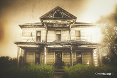 The Unforgiving (Ghost Of Nations Photography And Digital Art) Tags: ghostofnationsphotography gloomy sepia blackandwhite bw broken abandoned abandon artistic liminal jerauldcounty southdakota wessingtonsprings