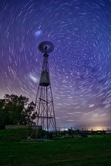 South circle (karinavera) Tags: travel sonya7r2 view longexposure night circumpolar mills buenosaires oneimage startrails argentina pampa molino campo field sky cielo stars south milkyway