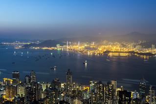 hk city night