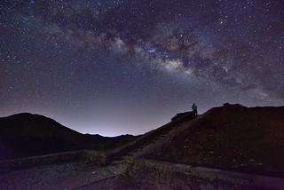 Starry Night , Mountain Hehuan