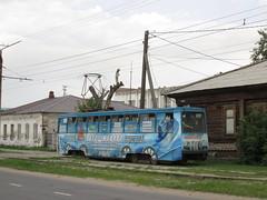71-605, вагон #93 (stanislavkruglove) Tags: pavlodar павлодар 2017 tram уквз 71605 93