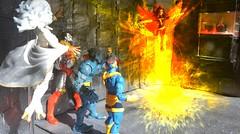 Dark Phoenix returns (peanutsinspace) Tags: marvelcomics marvellegends marvel hasbrolegends xmen darkphoenix jeangrey storm cyclops colossus beast professorx professorxavier actionfigure actionfigures