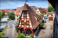 Historisches Rothenburg (Don111 Spangemacher) Tags: himmel historisch gebäude haus fachwerkhaus rothenburg reisen romantik städte