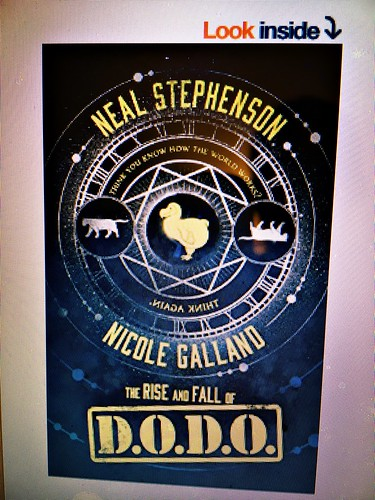 Neal Stephenson book fan photo