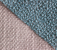 Textures of different materials. (Dennis Clegg) Tags: rubber materials macro textures pattern canon 600d stitching cushion mat