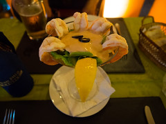P7151057 (tatsuya.fukata) Tags: thailand samutprakan cabanagarden restaurant italian food shrimp srimpcocktail