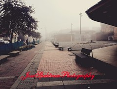 Una fría mañana en suba (josespektrumphotography) Tags: foto calle parque bogota suba neblina porlamañana fria soledad josespektrumphotography