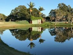 """""""coolangatta tweed  gold course"""" (rod marshall) Tags: coolangattatweedgolfcourse water reflections waterreflections"""