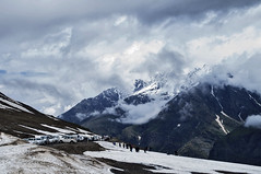 At Rohtang (Please see in large) (anandamoy) Tags: rohtang mountainpass hp india