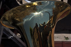 Allegro (johan van moorhem) Tags: sicily sicilië montallegro market trumpet music musicinstrument