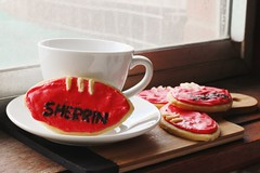 IMG_20161001_130921 (Alittlemorereckless) Tags: afl football sherrin food foodphotography cookies cookie foodstyling canon700d 700d