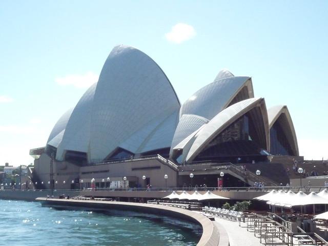 オペラハウス(世界各国の観光名所を巡れるオプショナルツアー)