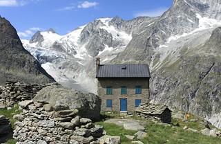 cabane Bricola, Ferpècle, Val d'Hérens