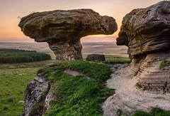 The Bunnet Stane (jasty78) Tags: thebunnetstane bunnetstane sunset fife scotland nikon d7200 sigma350mmf14 lomondhills gateside sandstone rockformation