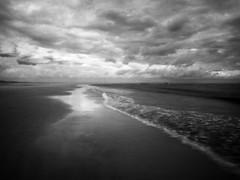 budle bay (Johnson Cameraface) Tags: 2017 june spring olympus omde1 em1 micro43 mzuiko 1240mm f28 johnsoncameraface northumberland bamburgh budlebay infrared ir coast tidal seaside clouds