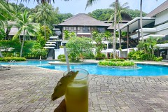 "Piña Colada at the pool. Turi Beach Resort, Batam island. Indonesia  July 2017 #itravelanddance • <a style=""font-size:0.8em;"" href=""http://www.flickr.com/photos/147943715@N05/35176018013/"" target=""_blank"">View on Flickr</a>"