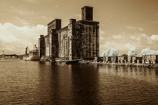 Red Hook Grain Terminal (Adventures in Infrared)