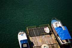 Green Sea (Gabriel Suciu) Tags: green sea fish pontoon blue boat boats simplicity nikon d3200 romania fisherman fishing sunny relaxing hobby holiday