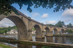 Chateaulin-1 (stevefge) Tags: bretagne brittany chateaulin france bridges rivers aulne architecture arch reflectyourworld landscape