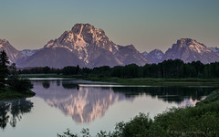 First light at Oxbow Bend (browtine1) Tags: oxbow bend snake river grand teton national park wyoming lake landscape water mountain sunrise