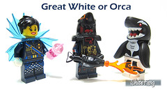 Great White or Orca (WhiteFang (Eurobricks)) Tags: lego collectable minifigures series city town space castle medieval ancient god myth minifig distribution ninja history cmfs sports hobby medical animal pet occupation costume pirates maiden batman licensed dance disco service food hospital child children knights battle farm hero paris sparta historic ninjago movie sensei japan japanese cartoon 20 blockbuster cinema people