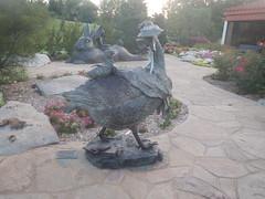 """Art Sculpture """"Public Art"""" (alnbbates) Tags: july2017 tulsa oklahoma lafortunepark running mothergoose"""