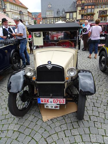 Pause für Oldtimer in Wernigerode