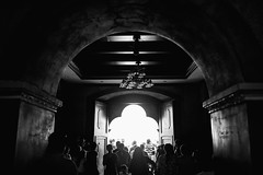 BS0I5221 2 (jeridaking) Tags: arch archway path church sto niño basilica entrace exit curve mono monotone light people mass catholic cebu philippines visayas ralph matres jeridaking fortheloveofphotography canon 1dxii 35mm 14 street raw