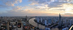 Bangkok 292-3 Panorama (SwissMike62) Tags: thailand bangkok city cityscape metropolis